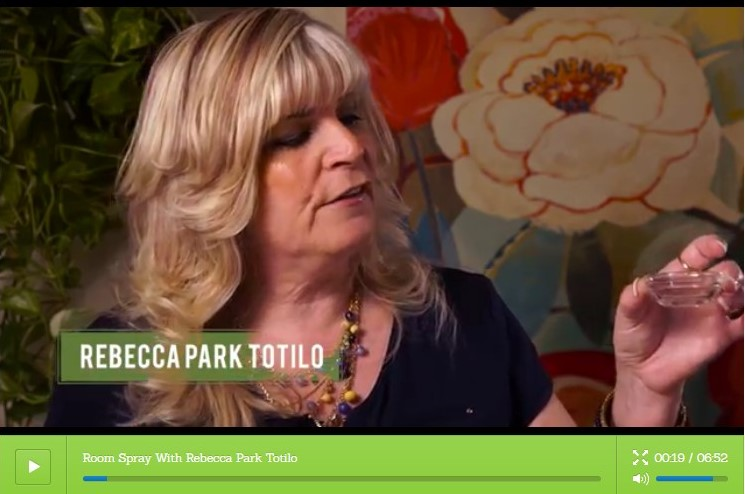 Certified Aromatherapist Rebecca Park Totilo | Master Aromatherapy